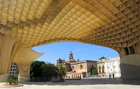 vanguardist iglesia encarnacin metropol setas la moderna sevilla andaluca