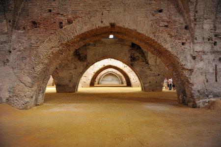 Medieval shipyards, Reales Atarazanas, Seville, Andalusia, Spain