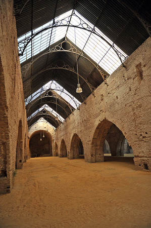 Medieval architecture, Atarazanas Reales, Seville, Andalusia, Spain