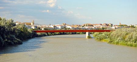 miraflores: Miraflores bridge over the Guadalquivir River, Cordoba, Spain