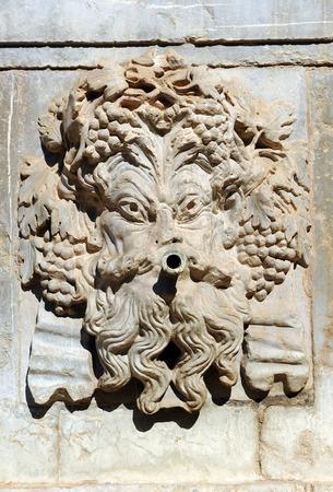 carlos: Autumn, monumental fountain of Carlos V, Granada, Andalusia, Spain
