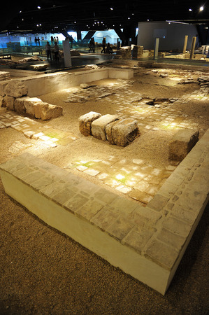 incarnation: Roman ruins of Hispalis, Antiquarium, Seville, Andalusia, Spain