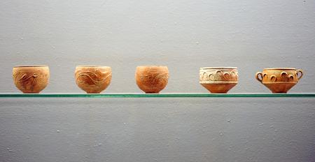 Roman ceramic, cups, bowls photo