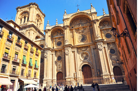 l first: Catholic Cathedral of Granada, Andalusia, Spain