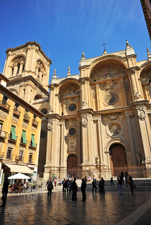 l first: Renaissance architecture, Catholic Cathedral of Granada, Andalusia, Spain