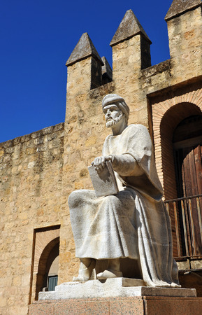 metaphysics: Tribute to Averroes, Islamic philosopher and physician, Cordoba, Spain Editorial