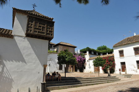 lordly: Eliaj Nahamias Square, Palace House  of the Jewish, Cordoba, Andalusia, Spain