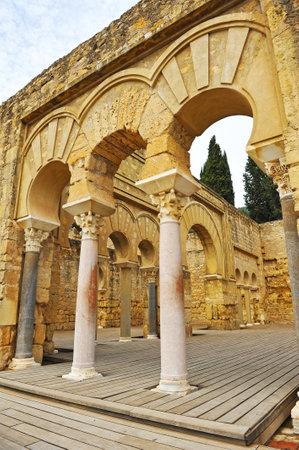 caliphate: Palace of Medina Azahara in Cordoba, Andalusia, Spain