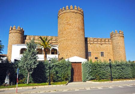 badajoz: Castle, Palace Dukes of Feria, Zafra, Badajoz province, Spain