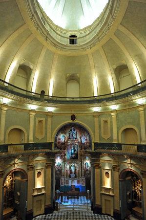 oratoria: Constitución Española de 1812, la cúpula del Oratorio de San Felipe Neri, Cádiz, España