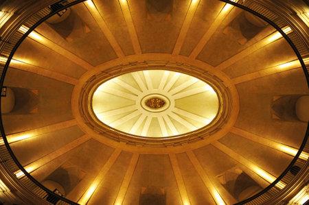 oratory: Constituci�n Espa�ola de 1812, la c�pula del Oratorio de San Felipe Neri, C�diz, Espa�a