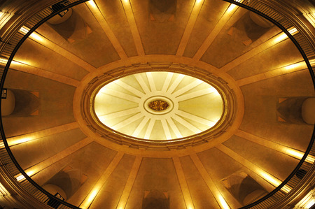 oratory: Spanish Constitution of 1812, dome of the Oratory of St. Philip Neri, Cadiz, Spain