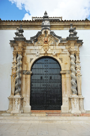 assumption: Church of the Assumption, Cabra, Cordoba province, Andalusia, Spain Stock Photo