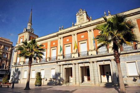 huelva: City Hall of Huelva, Andalusia, Spain Editorial