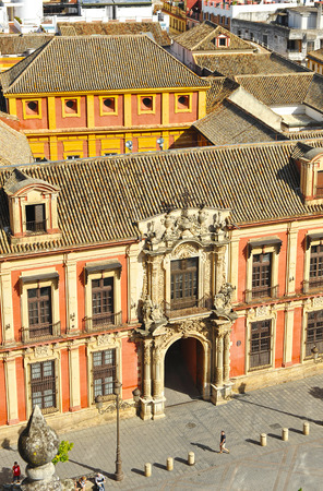 archbishop: Archbishop Palace, Virgen de los Reyes square, Seville, Spain
