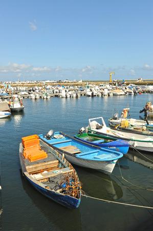 fishing fleet: Algarve, Fishing port of Olhao, southern Portugal