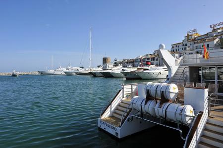literas: Yates de lujo, Marbella, Costa del Sol, Málaga, España