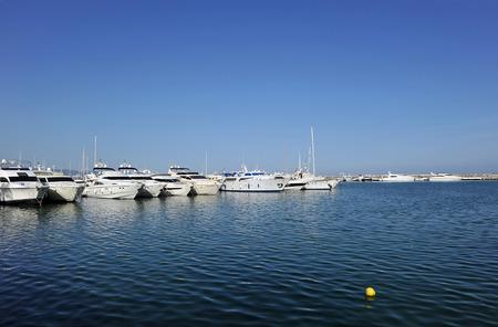 literas: Puerto Banús Marina, Marbella, Costa del Sol, Málaga, España