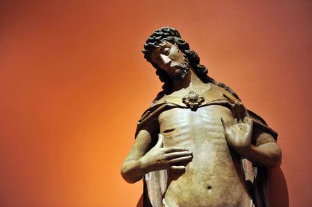 millan: Jesus Christ, Gothic sculpture, Seville, Spain Stock Photo