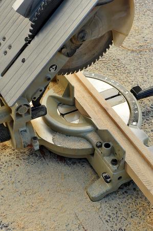 miter: Professional woodworking tool, miter saws