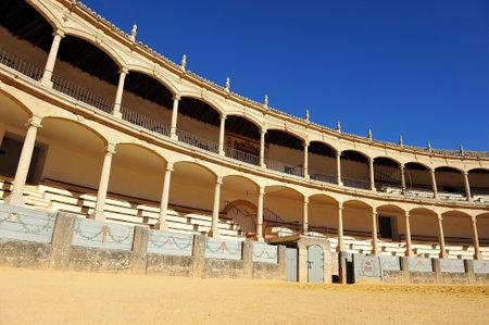 ronda: Bullring in Ronda, Maestranza, Malaga Province, Spain