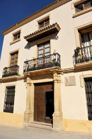 lordly: Manor house, Ronda, province of Malaga, Andalusia, Spain Editorial