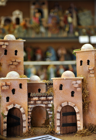 drover: Figures of Bethlehem, Christmas market, Houses and Castles