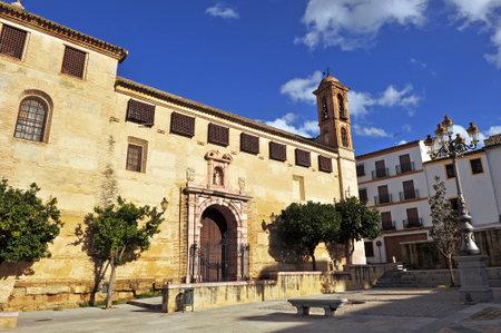 viejo: Coso Viejo square, Antequera, Malaga province, Andalusia, Spain