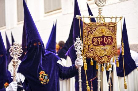 fraternit�: Nazar�ens, la Semaine Sainte � S�ville, la fraternit� de l'espoir, Andalousie, Espagne �ditoriale