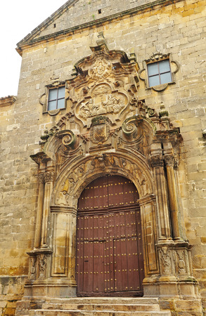 edification: Church of the Holy Trinity in Ubeda, Jaen province, Spain
