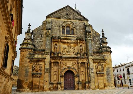 savior: Church of the Savior, Ubeda, Jaen province, Spain Stock Photo