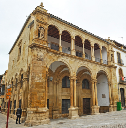lordly: Old Town Hall, Ubeda, Jaen province, Spain Stock Photo