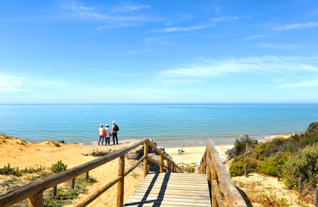 Cuesta Maneli, Mazagon, Costa de la Luz, Huelva province, Spain