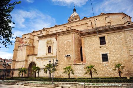 castilla la mancha: Cathedral of Ciudad Real, Castilla la Mancha, Spain Stock Photo