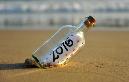 nowy rok: 2016 Szczęśliwego nowego roku Zdjęcie Seryjne