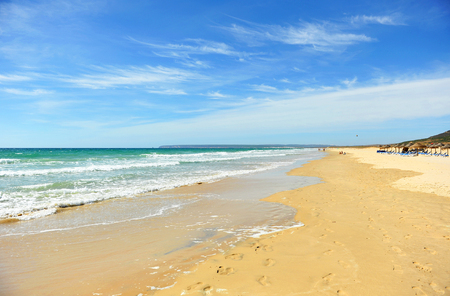 Beach of Zahara de los Atunes, Cadiz province, Andalusia, Spain