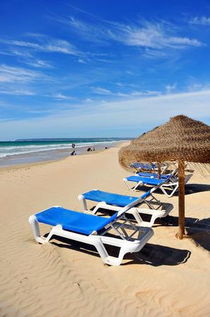 tarifa: Zahara de los Atunes, Atlanterra beach, Cadiz province, Andalusia, Spain