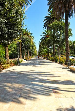 paseo: Paseo de la Alameda, Malaga, Costa del Sol, Andalusia, Spain