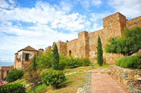 alcazaba: Arabic Alcazaba, Malaga, Andalusia, Spain