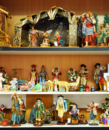 drover: Small figures of Bethlehem, Christmas market