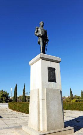 liberator: General San Martin, liberator of Argentina, Chile and Peru.
