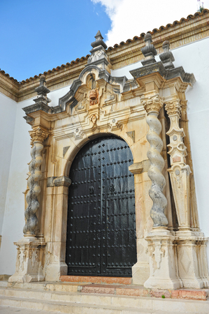 baroque architecture: Baroque architecture, Church of the Assumption, Cabra, province of Cordoba, Andalusia, Spain Stock Photo