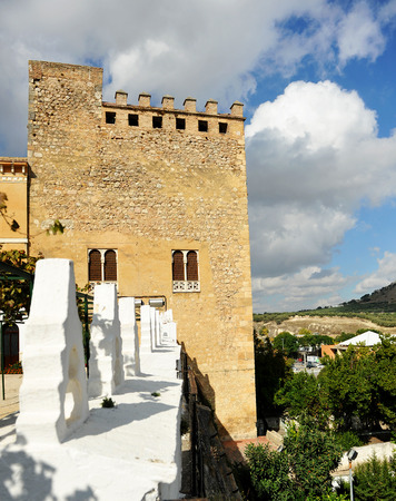 donjon: Donjon of the Castle of Cabra, Cordoba province, Andalusia, Spain Editorial