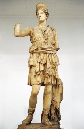escultura romana: Diana cazadora, Artemisa, la escultura romana de m�rmol, Sevilla, Espa�a Editorial
