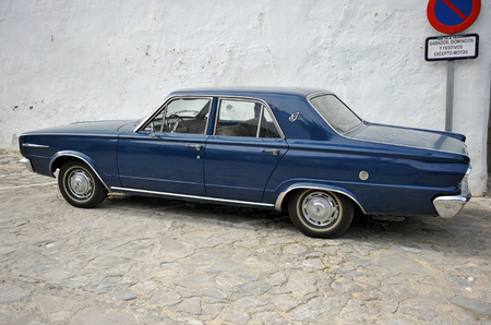 the seventies: Classic car of the sixties and seventies of the twentieth century, Dodge Dart, Spain
