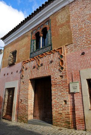 badajoz: Ajimez house, Zafra, province of Badajoz, Spain