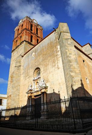 badajoz: Church of the Candlemas, Zafra, province of Badajoz, Extremadura, Spain