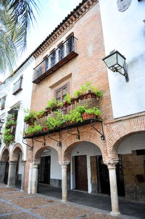 mudejar: Mudejar House in the Plaza Grande de Zafra, Badajoz, Extremadura, Spain