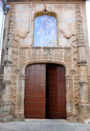 badajoz: Hospital of Santiago, Zafra, Badajoz province, Extremadura, Spain Stock Photo