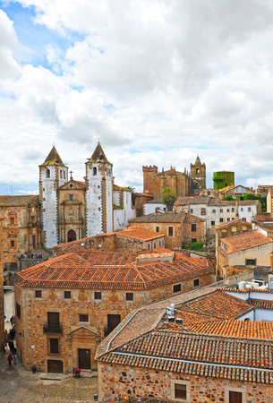 extremadura: The medieval city of Caceres, Extremadura, Spain
